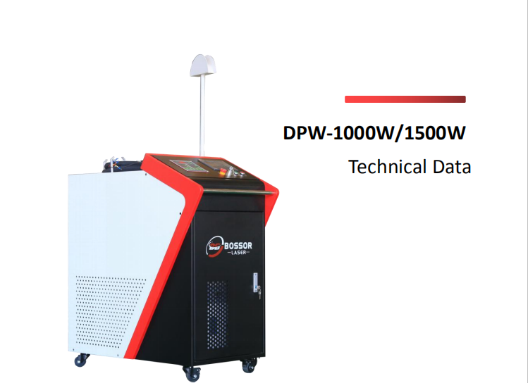 DPW-1000W/1500W Fiber Laser Welding Machine operation and Main Components