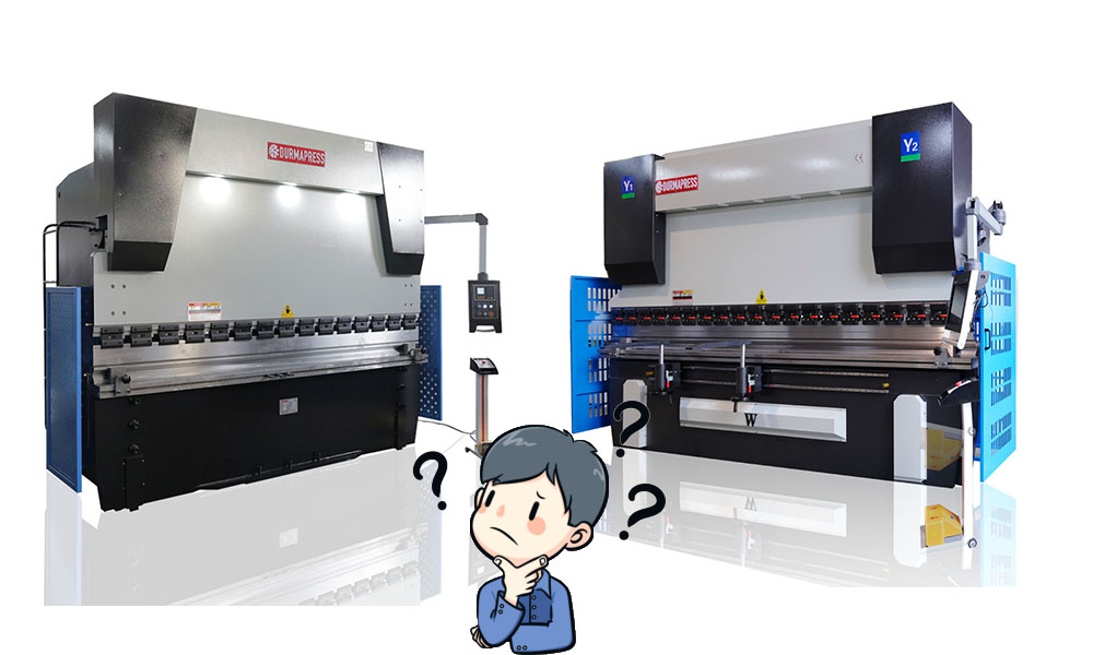 The difference between NC press brake and cnc press brake