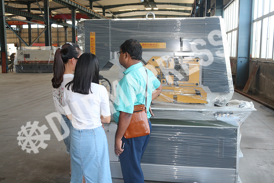 Bangladesh customers come to Durmapress .jpg