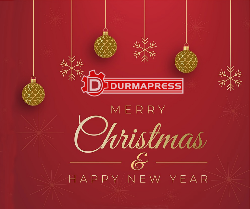 Merry Christmas-Best Wishes to Durmapress's Partners and Clients