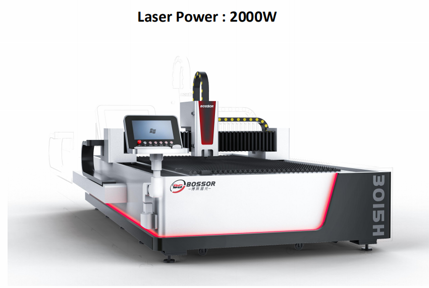 A popular interpretation of the principle of 2kw fiber laser cutting machine, taking you out of misunderstandings