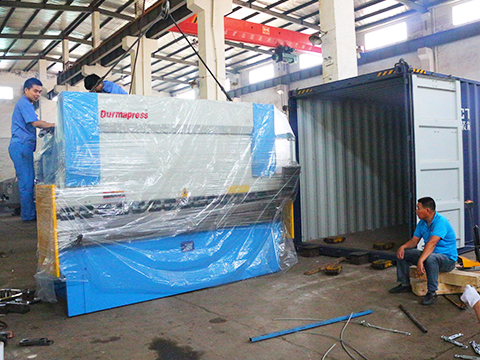 To THAILAND – KRRASS WC67K-160T3200 PRESS BRAKE