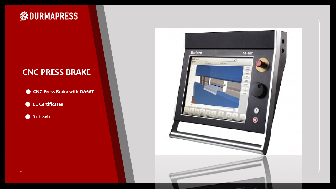 DELEM DA66T Press Brake CNC system description